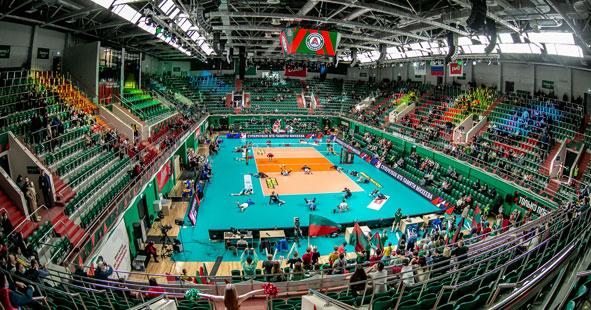 В Новосибирской области открыли крупнейший за Уралом волейбольный центр международного уровня