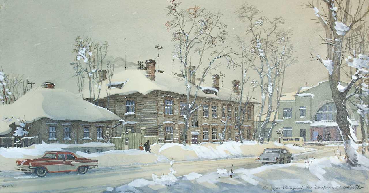 Город, которого мы не знаем: Музей Новосибирска представляет уличную выставку Василия Касаткина