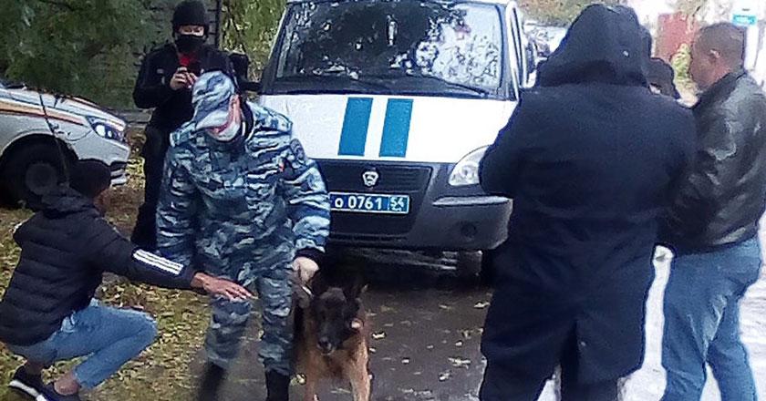 Темнокожий кубинец из Новосибирска сообщил о заложенном взрывном устройстве