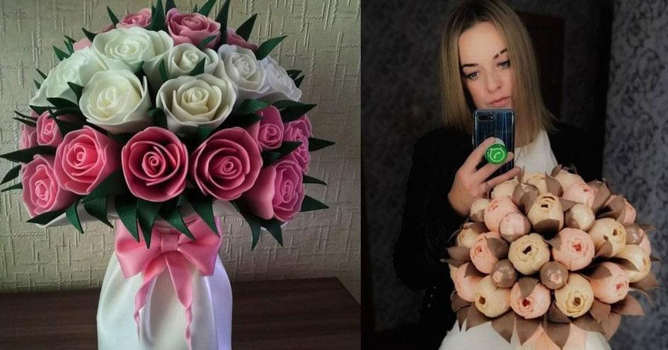 Жительница Новосибирской области создаёт уникальные светящиеся букеты