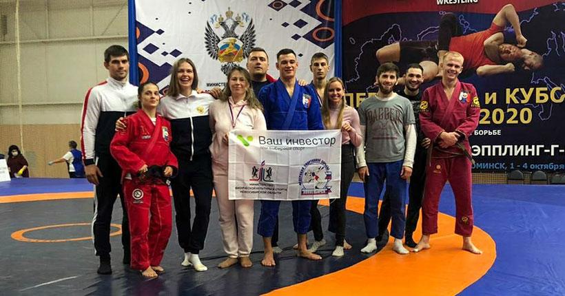 Новосибирские борцы выиграли 5 кубков России и три путёвки на первенство мира