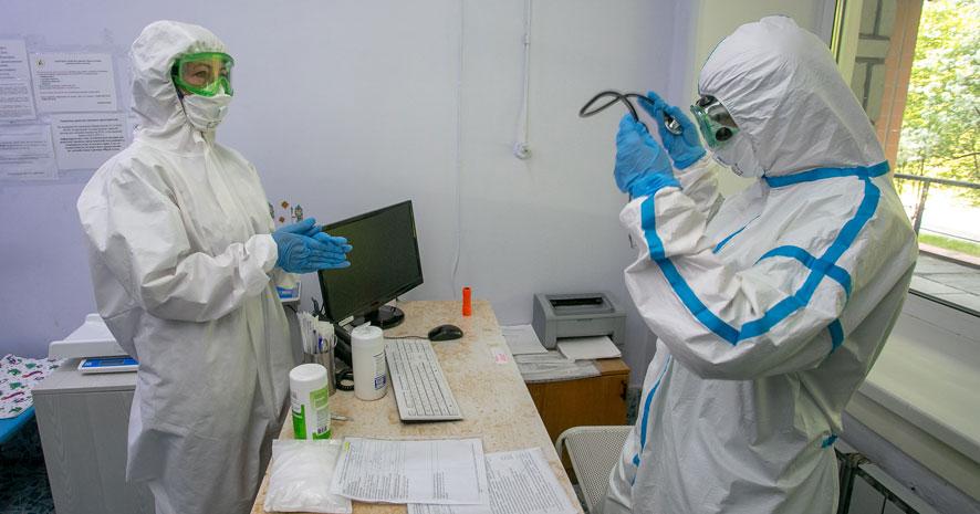 Количество выявленных за сутки пациентов с коронавирусом бьёт рекорды в Новосибирской области