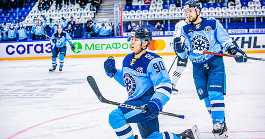 Новосибирская хоккейная «Сибирь» прервала серию поражений