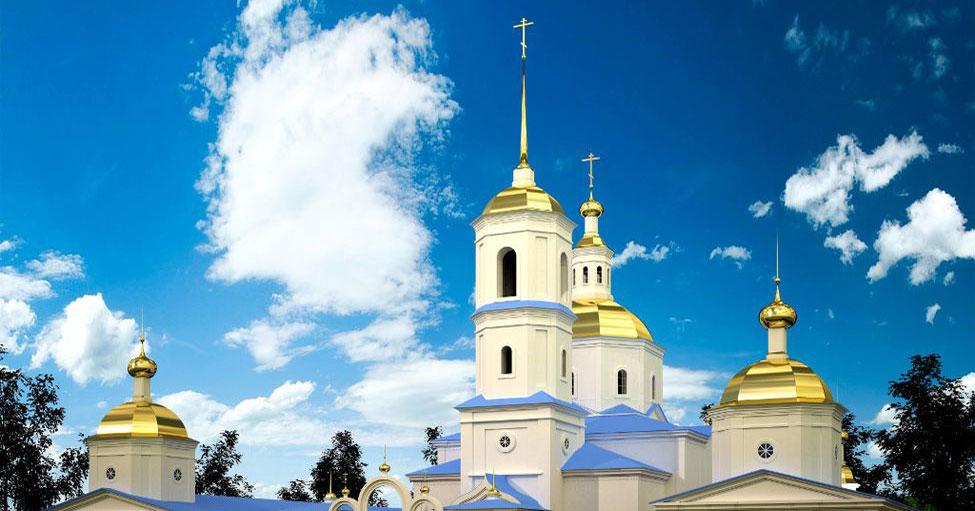 В Новосибирской области восстанавливают Спасский собор XVIII века