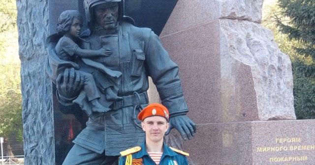 Новосибирский пожарный стал лучшим в Сибирском федеральном округе
