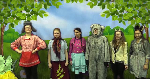 В Новосибирске, в женской исправительной колонии, поставили старую добрую «Репку»
