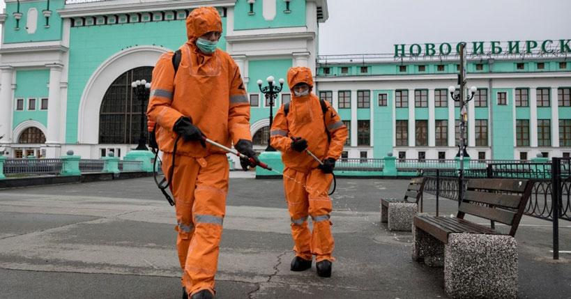 В Новосибирской области возобновили дезинфекцию крупных объектов