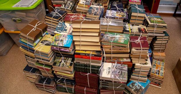 Более двух тысяч книг собрали жители Новосибирска для воспитательной колонии ГУФСИН