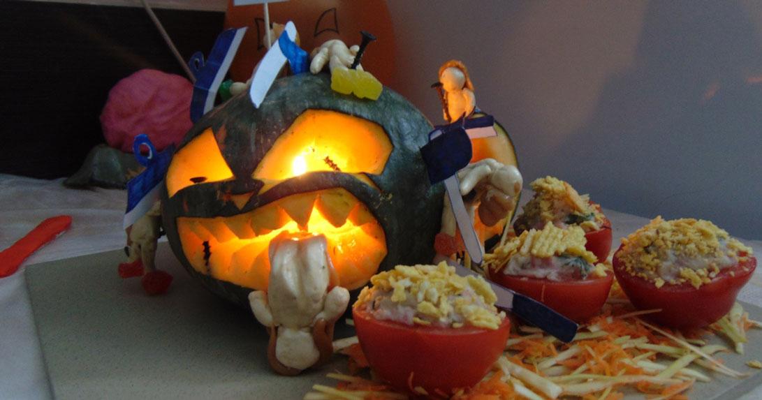 Уникальную выставку к Хэллоуину организовали в исправительной колонии в Новосибирске