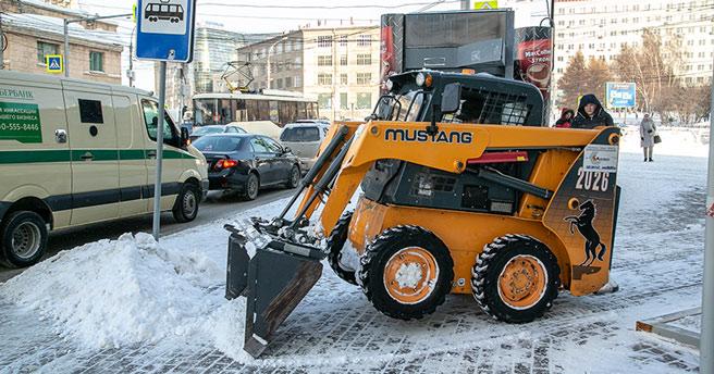 Из-за коронавируса Новосибирск остался без новой снегоуборочной техники