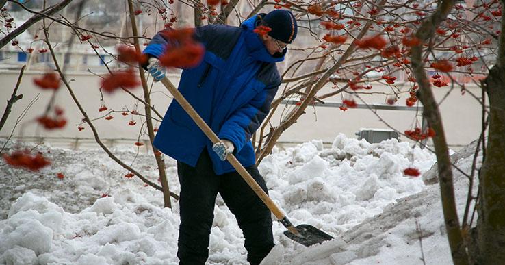 В Новосибирске увеличилось количество мест складирования снега