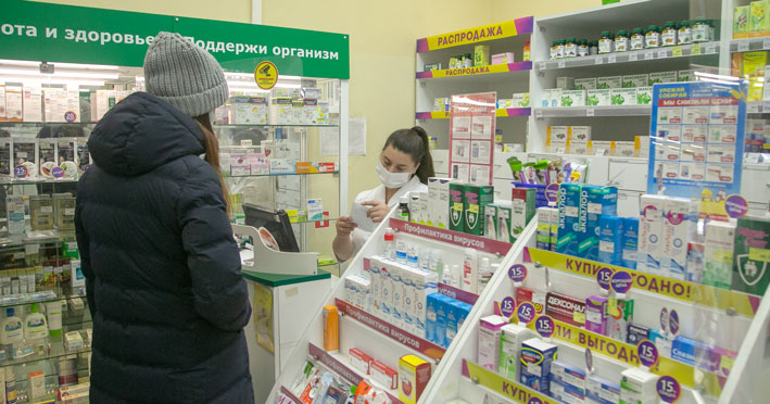 Из-за высокого спроса в муниципальной аптечной сети Новосибирска остался небольшой запас антибиотиков