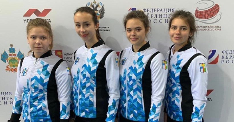 Новосибирские кёрлингисты-юниоры вернулись из Сочи с медалями