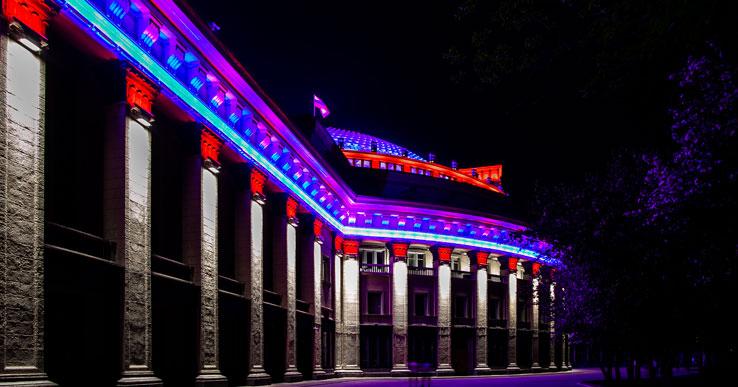 Сквер за оперным театром в Новосибирске сделают в северном стиле