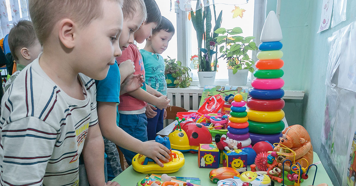 Все сведения о местах в детсадах будут автоматически поступать из регионов на единый информационный ресурс