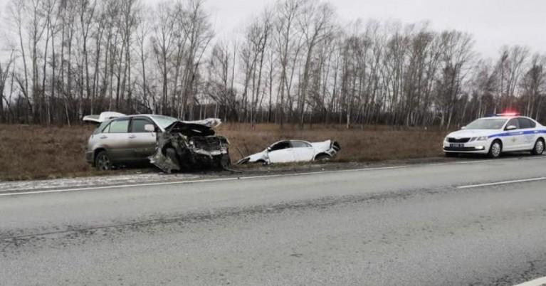 В Черепановском районе Новосибирской области произошло смертельное ДТП