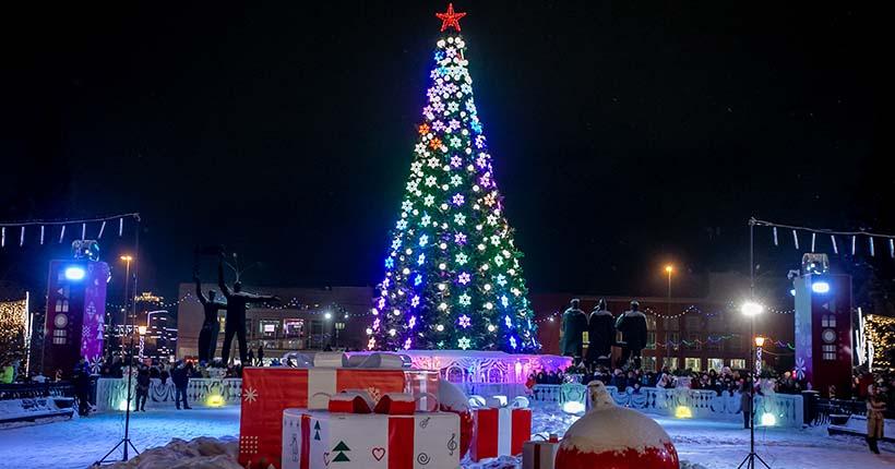 Стало известно, как в Новосибирске будут праздновать Новый год