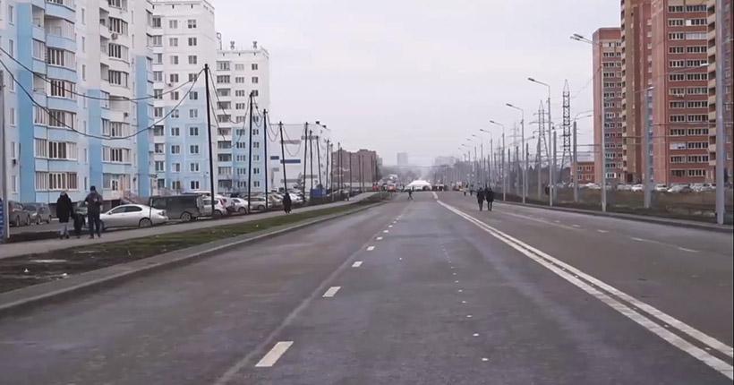 Досрочно сдали новый участок улицы Титова в Новосибирске