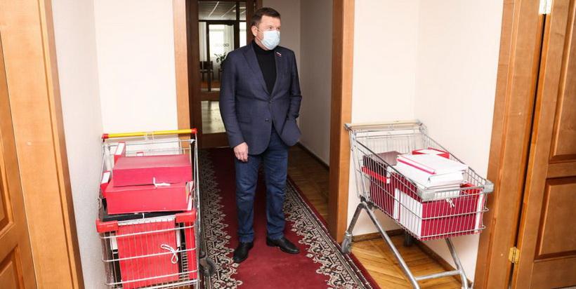 В три раза больше наказов, чем в прошлом созыве, получили депутаты новосибирского заксобрания