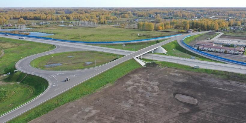 После реконструкции открыто движение по участку трассы Челябинск — Новосибирск
