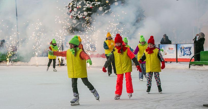 Больше 20 катков откроется до конца декабря в Новосибирске