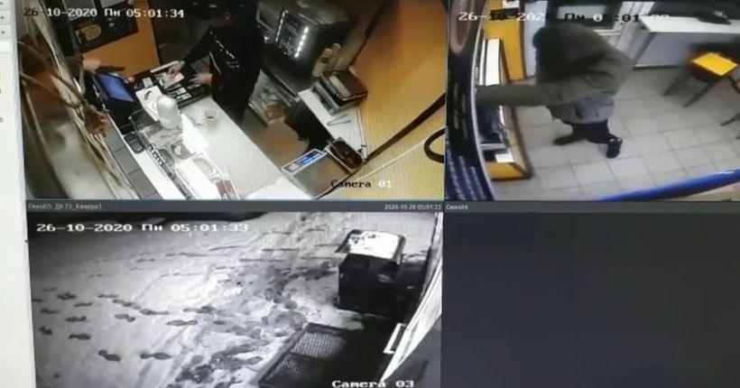 Полиция просит помочь найти разбойника, ограбившего продавца в Новосибирске