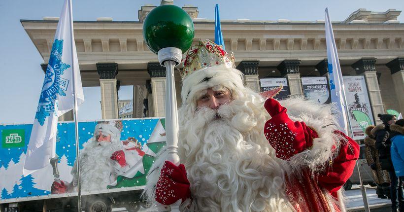 Дед Мороз из Великого Устюга пообщается с новосибирцами онлайн