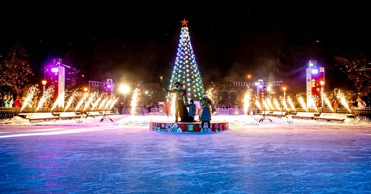 Все массовые новогодние гуляния в этом году в Новосибирске отменяют