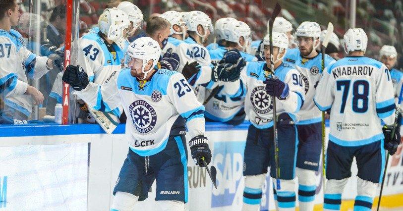 Новосибирская «Сибирь» продлила победную серию до 4 матчей