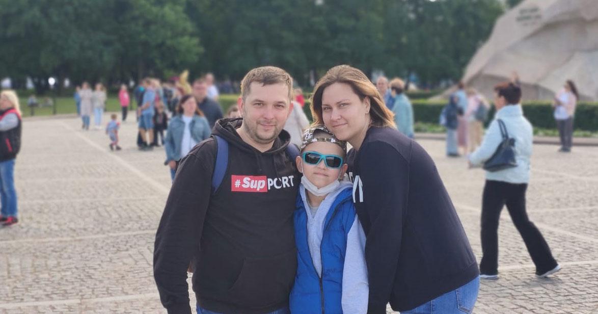 Мальчику из Новосибирска необходимо помочь в оплате билетов к месту лечения