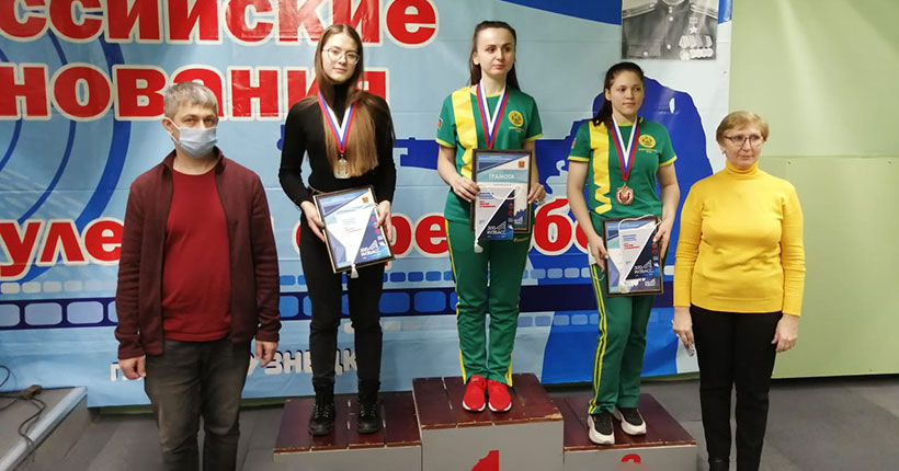 Новосибирские девушки-стрелки заняли весь пьедестал на всероссийских соревнованиях