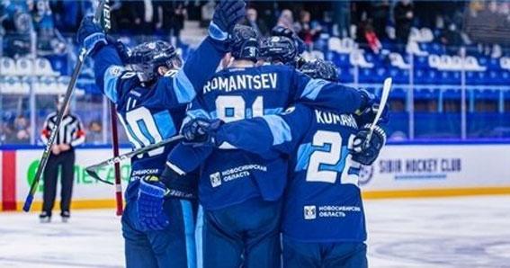 Новосибирская хоккейная «Сибирь» всухую победила московский «Спартак»