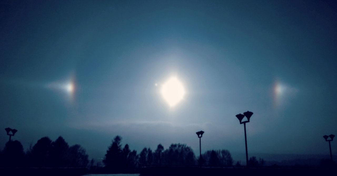 Жители Новосибирской области могут увидеть редкое атмосферное явление 3 декабря