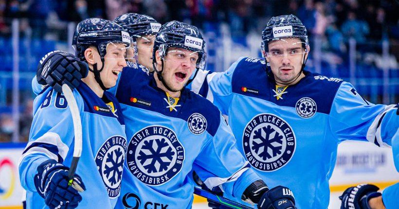 Новосибирская «Сибирь» выиграла второй домашний матч подряд