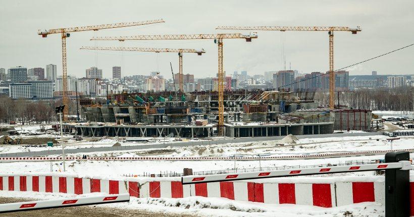 Ледовую арену в Новосибирске планируют ввести раньше срока