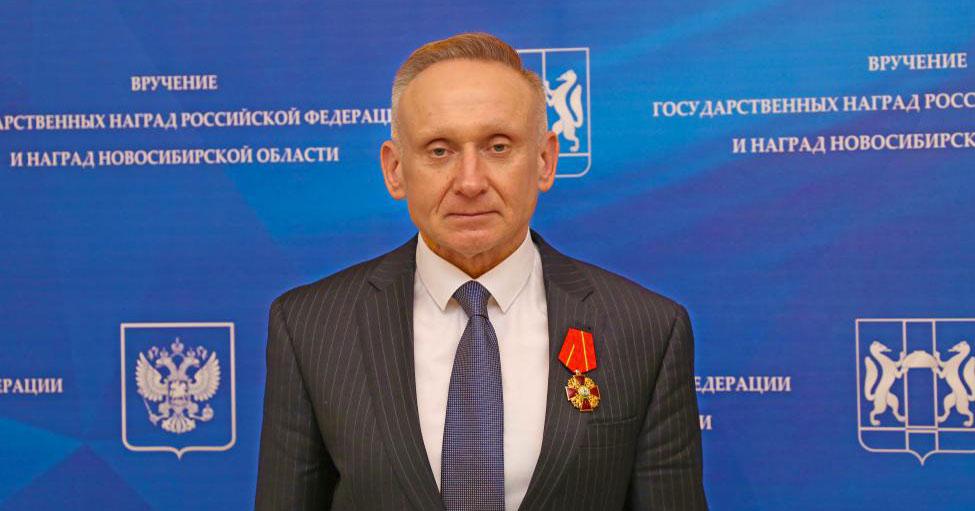 Первого вице-спикера Законодательного собрания Новосибирской области Андрея Панфёрова наградили орденом