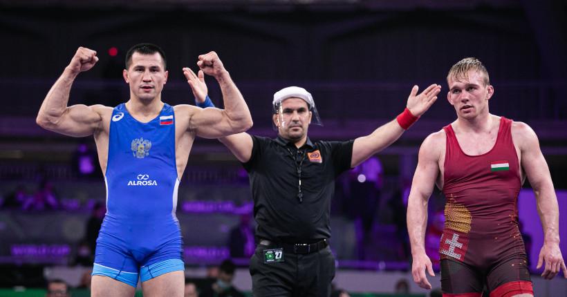 Новосибирский борец Роман Власов вернулся на мировую вершину