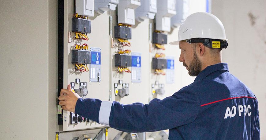 АО «РЭС» проводит реконструкцию высоковольтной подстанции в центре Новосибирска