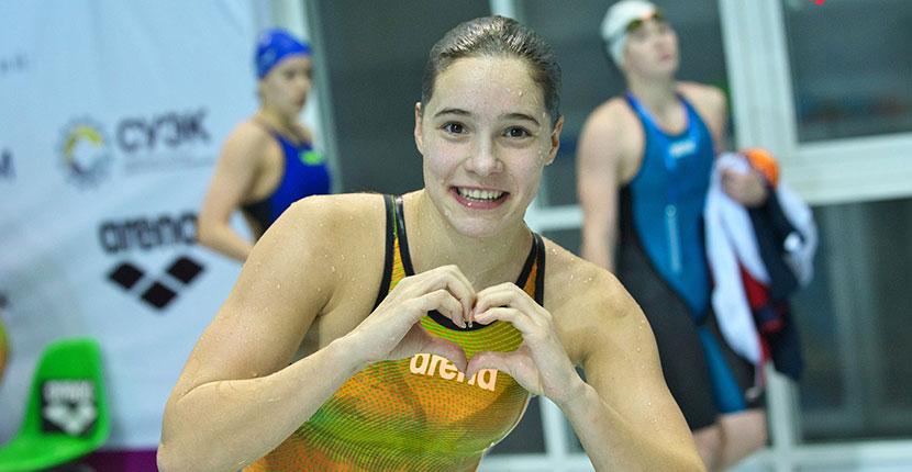 20 медалей на первенстве России завоевали юные новосибирские пловцы