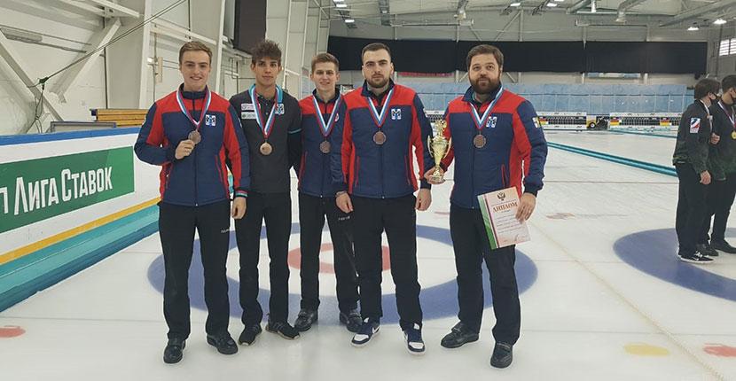 Кёрлингисты из Новосибирской области впервые завоевали медаль чемпионата России