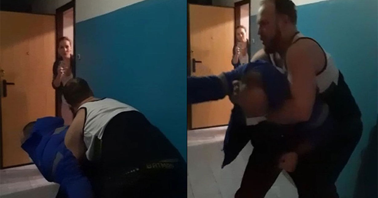 В Новосибирске на видео попало избиение реаниматолога, отказавшегося надеть бахилы