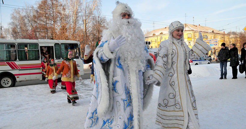 Новый год 2021: мэр Новосибирска пожаловался губернатору региона на незаконные аттракционы