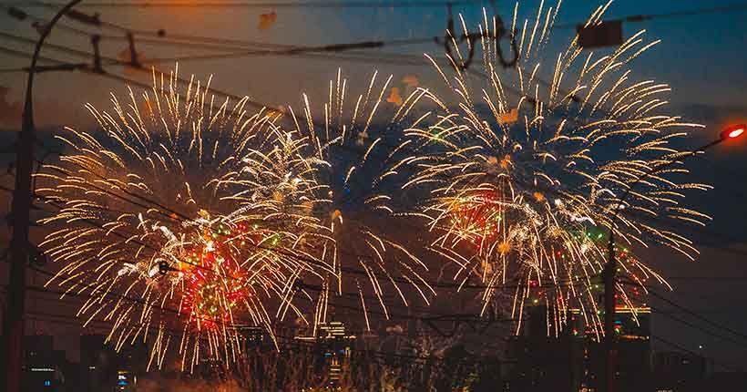 Праздничного салюта на Новый год в Новосибирске не будет
