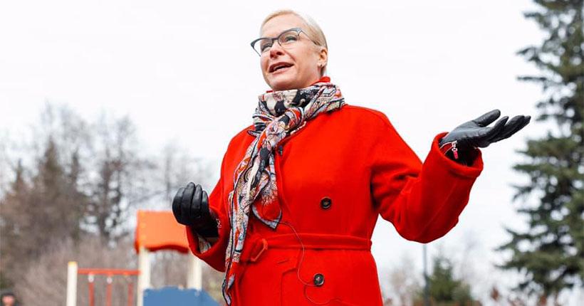 Президент России Владимир Путин наградил вице-мэра Новосибирска Анну Терешкову