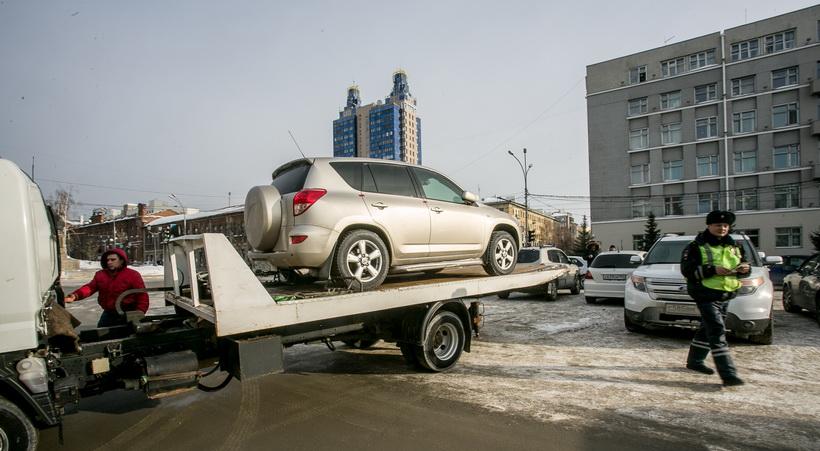 Новосибирские налоговики арестовывают автомобили за долги их владельцев