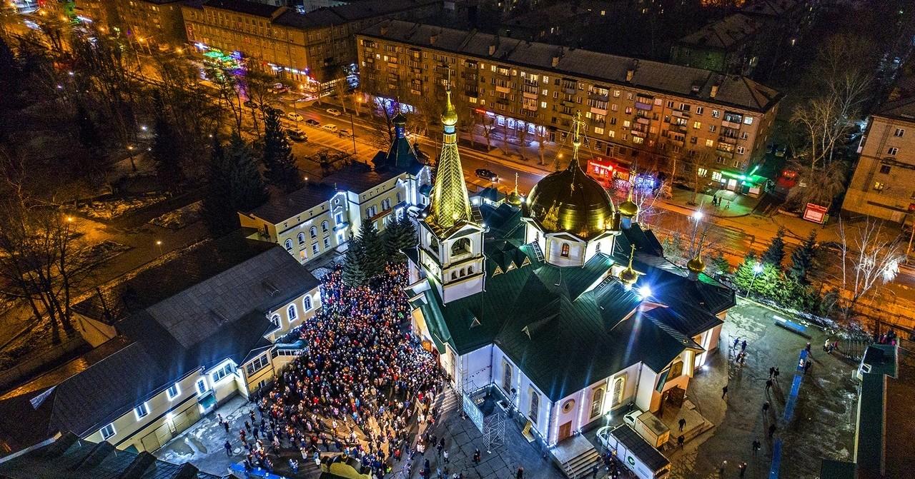 Стало известно, как в Новосибирской области пройдёт Рождественское богослужение