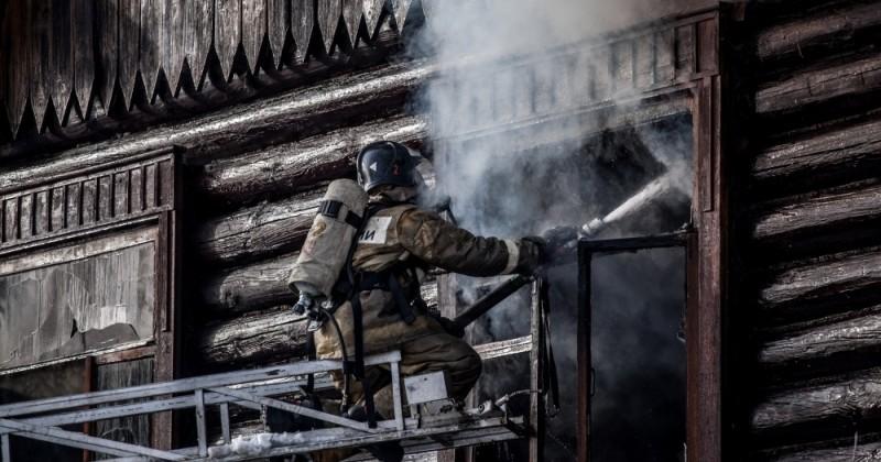 В рождественские праздники в Новосибирской области произошло несколько крупных пожаров
