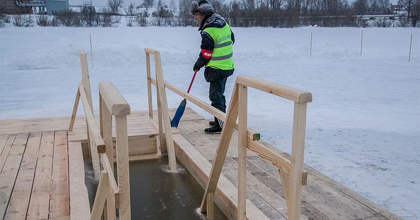 Крещение в Новосибирской области: будут ли организованы купели?