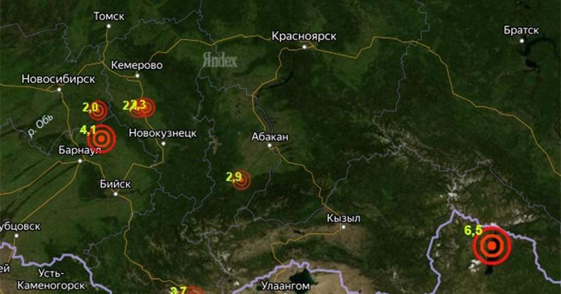 Жители Новосибирской области ощутили последствия сильного землетрясения на границе Монголии и России
