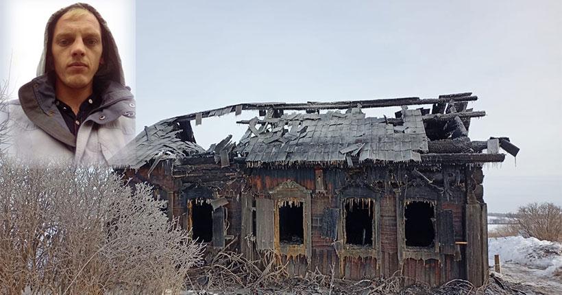 В Новосибирской области случайный прохожий спас пенсионера из горящего дома
